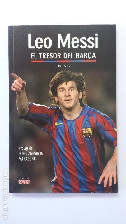 LIBRO LEO MESSI EL TRESOR DEL BARÇA (Libros Nuevos - Ocio - Deportes y Juegos)