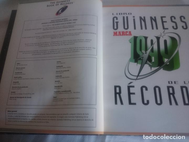 Libros: Guinnes de los records.Marca 1999 - Foto 7 - 174999723