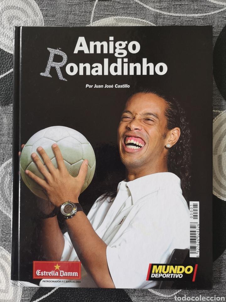 LIBRO AMIGO RONALDINHO (Libros Nuevos - Ocio - Deportes y Juegos)