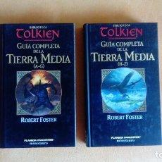 Libros: EL SEÑOR DE LOS ANILLOS GUIA DE LA TIERRA MEDIA. Lote 179341773