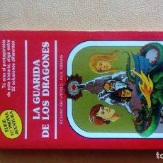 Libros: LA GUARIDA DE LOS DRAGONES LIBROJUEGO. Lote 179341800
