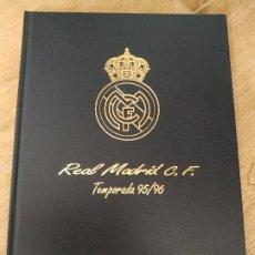 Libros: LIBRO REAL MADRID C.F. TEMPORADA 95/96 1995 1996. Lote 181010050