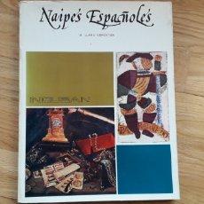 Libros: NAIPES ESPAÑOLES, M. LLANO GOROSTIZA,. Lote 185932993