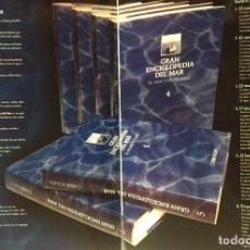 Libros: ENCICLOPEDIA DEL MAR Y DE LA NAVEGACIÓN, 6 TOMOS. Lote 187625230