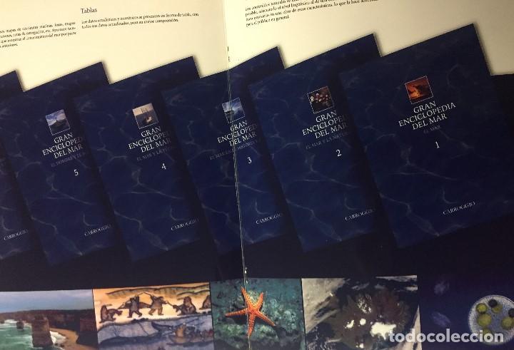 Libros: Enciclopedia del Mar y de la Navegación, 6 tomos - Foto 2 - 187625230