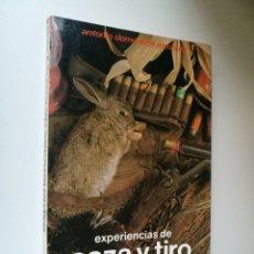 Libros: EXPERIENCIAS DE CAZA Y TIRO .1986.FIRMADO POR EL AUTOR ANTONIO DOMENECH .ED.HISPANO EUROPEA .225 PAG. Lote 192803802