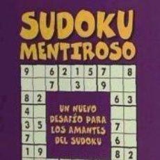 Libros: SUDOKU MENTIROSO. Lote 192998515