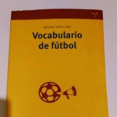 Libros: VOCABULARIO DE FÚTBOL. Lote 194735093