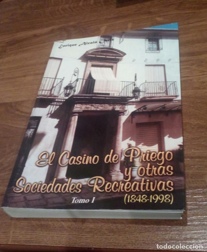 EL CASINO DE PRIEGO Y OTRAS SOCIEDADES RECREATIVAS (CORDOBA) (Libros Nuevos - Ocio - Deportes y Juegos)