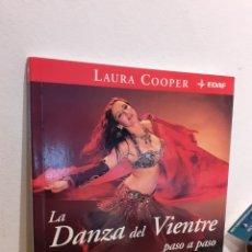 Libros: LA DANZA DEL VIENTRE PASO A PASO. Lote 197639076