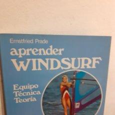 Livres: APRENDER WINDSURF. Lote 198120751