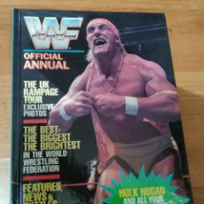Libros: WWF WF OFFICIAL ANNUAL ANUARIO OFICCIAL 1991 GRANDREAMS ISBN 0-86227-908-9 WWE PRESSING CATCH LUCHA. Lote 198706011