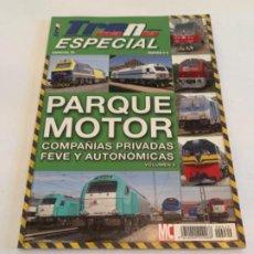 Livres: TRENMANIA ESPECIAL 20 PARQUE MOTOR. Lote 200883752