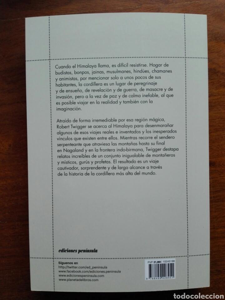 Libros: La montaña blanca Viajes reales e imaginarios por el Himalaya Robert Twigger Libro nuevo. chamanismo - Foto 7 - 192646811