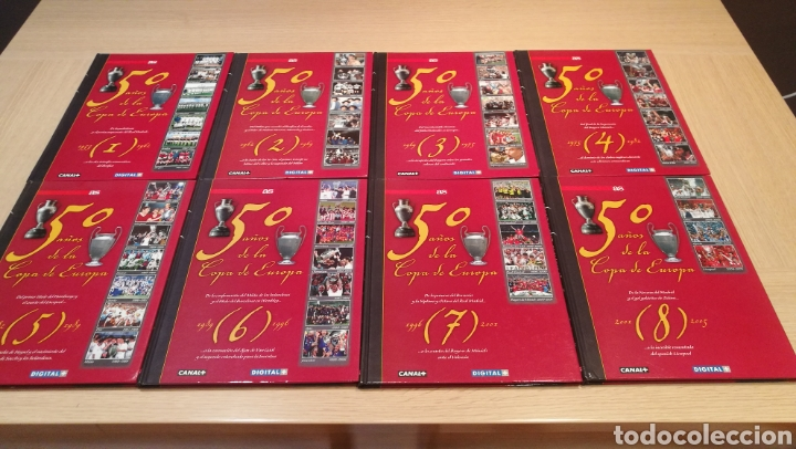 Libros: Colección 50 años de la copa de europa - Foto 2 - 208783051