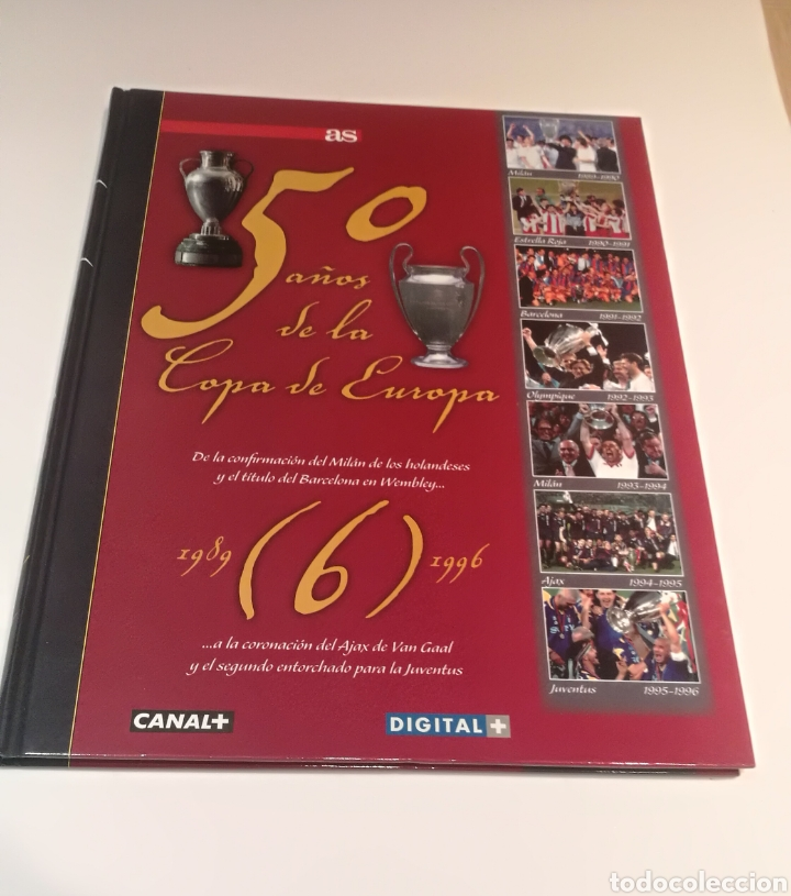Libros: Colección 50 años de la copa de europa - Foto 8 - 208783051