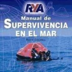 Libros: MANUAL DE SUPERVIVENCIA EN EL MAR. Lote 210274917