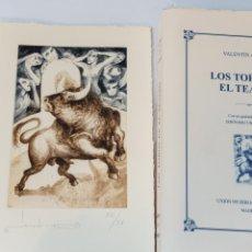 Libros: LOS TOROS EN EL TEATRO. Lote 210379447