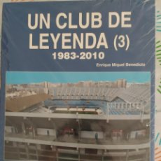 Livres: LIBRO UN CLUB DE LEYENDA 3 PRECINTADO. Lote 211437586