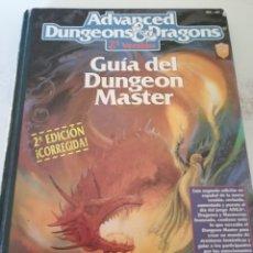 Libros: GUÍA DUNGEON MASTER AD&D. 2A EDICIÓN. Lote 211722281
