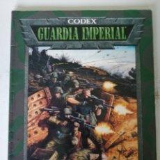 Libros: LOTE CODEX GUARDIA IMPERIAL +CODEX CATACHAN WH. 40K. Lote 211731318