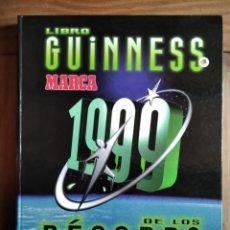 Libros: LIBRO GUINNESS DE LOS RÉCORDS DE MARCA. Lote 213220037