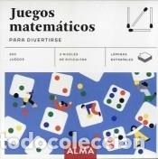 JUEGOS MATEMáTICOS PARA DIVERTIRSE (Libros Nuevos - Ocio - Deportes y Juegos)