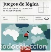 JUEGOS DE LóGICA PARA MEJORAR TU CAPACIDAD DE RAZONAMIENTO (Libros Nuevos - Ocio - Deportes y Juegos)