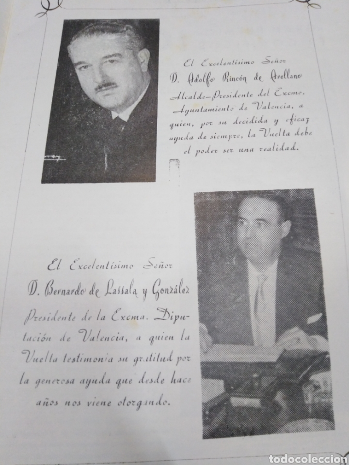 Libros: 23 VUELTA CICLISTA A LEVANTE-HOMENAJE DON VICENTE FERRI VILA(CICLISMO VALENCIANO)1964,ILUSTRADO - Foto 7 - 218503198