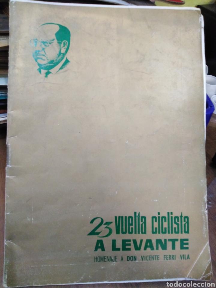 23 VUELTA CICLISTA A LEVANTE-HOMENAJE DON VICENTE FERRI VILA(CICLISMO VALENCIANO)1964,ILUSTRADO (Libros Nuevos - Ocio - Deportes y Juegos)