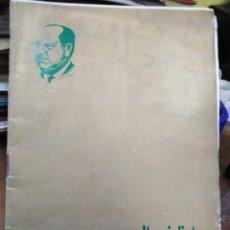Libros: 23 VUELTA CICLISTA A LEVANTE-HOMENAJE DON VICENTE FERRI VILA(CICLISMO VALENCIANO)1964,ILUSTRADO. Lote 218503198