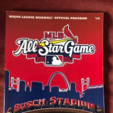 Libros: 2009 OFFICIAL MLB ALL STAR GAME PROGRAM MLB INSIDERS CLUB LIMITED EDITION. Lote 220663008