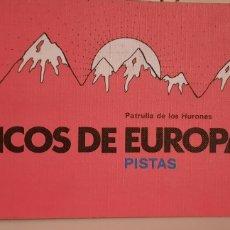 Libros: PICOS DE EUROPA PISTAS. Lote 221610190