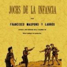 Libros: JOCHS DE LA INFANCIA. Lote 222423280