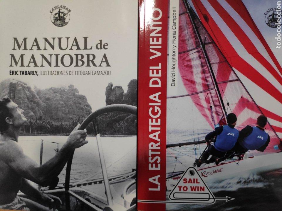 MANUAL DE MANIOBRA, DE ÉRIC TABARLY + LA ESTRATEGIA DEL VIENTO (Libros Nuevos - Ocio - Deportes y Juegos)