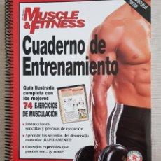 Libri: CUADERNO DE ENTRENAMIENTO 74 EJERCICIOS - MUSCLE FITNESS. Lote 222899396