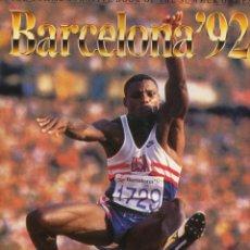 Libros: BARCELONA 1992 - OLÍMPIADAS (EN INGLÉS). Lote 224566567
