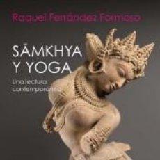 Libros: SAMKHYA Y YOGA. Lote 226427160