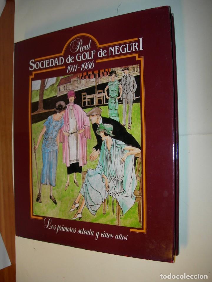 REAL SOCIEDAD DE GOLF DE NEGURI 1911-1986 (Libros Nuevos - Ocio - Deportes y Juegos)