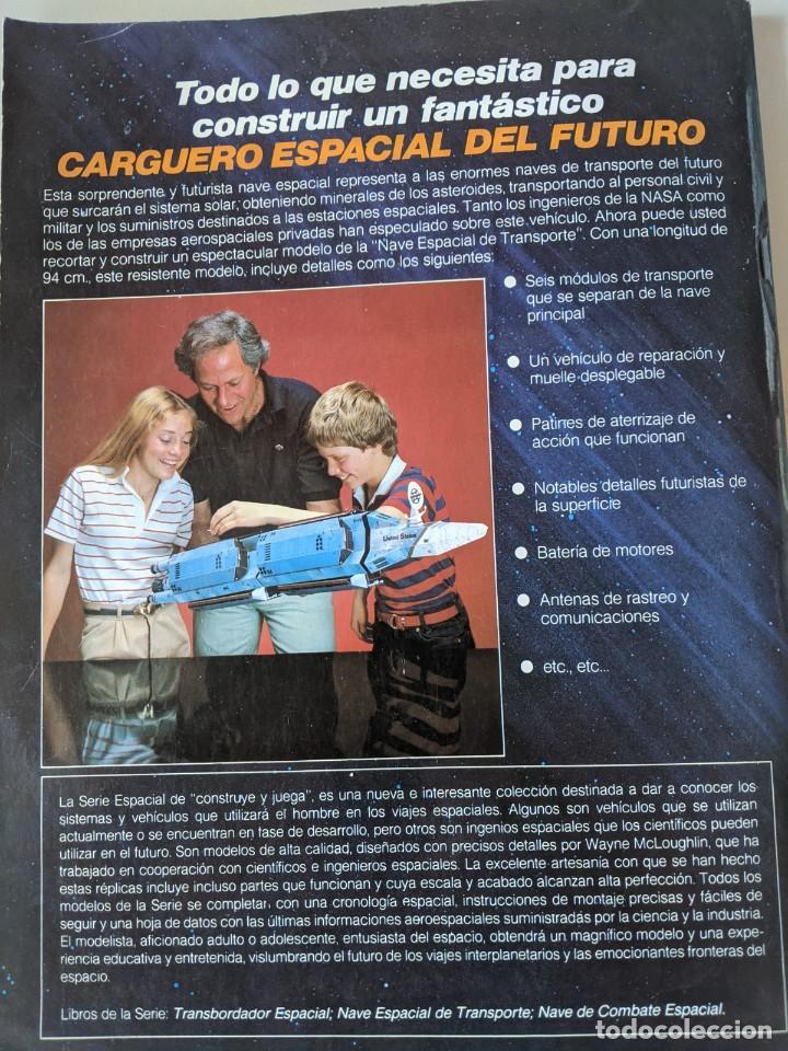 Libros: LIBRO CON NAVE ESPACIAL DE TRANSPORTE PARA MONTAR - UNA SUPERMAQUETA PARA ARMAR - IMPECABLE - Foto 2 - 235735120