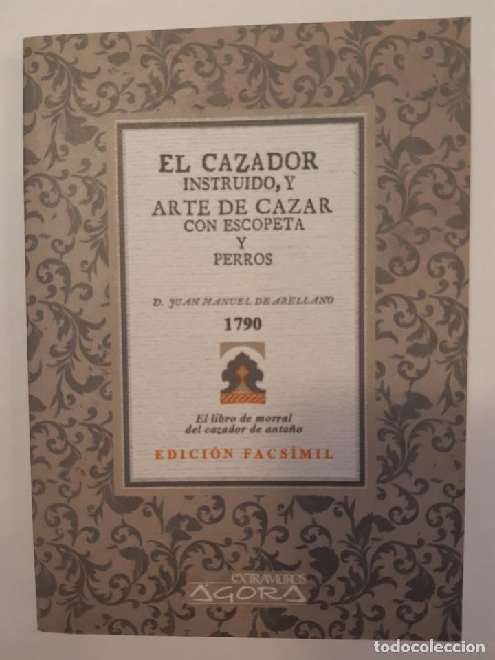 Libros: 3 libros facsímiles relativos a la CAZA. Perros de muestra Cacería Pesca Escopetas Cazadores - Foto 7 - 237390160