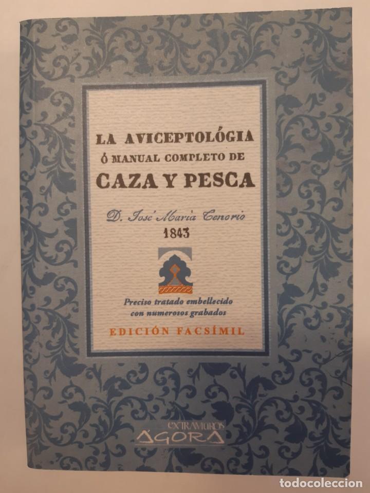 Libros: 3 libros facsímiles relativos a la CAZA. Perros de muestra Cacería Pesca Escopetas Cazadores - Foto 8 - 237390160