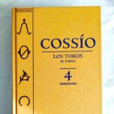 Libros: COSSÍO: LOS TOROS. TOMO 4. Lote 239987940