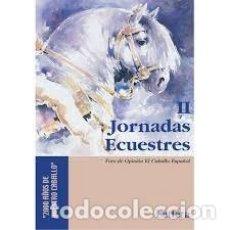"""Libros: II JORNADAS ECUESTRES """"2000 AÑOS DE NUESTRO CABALLO"""": CELEBRADAS EN SEVILLA LOS DÍAS, 24 Y 25 DE MAR. Lote 242379945"""