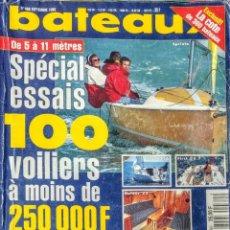Libros: BATEAUX.REVISTA.SEPTIEMBRE 1996.CON DESPLEGABLE DOBLE.. Lote 242896115