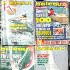 Libros: BATEAUX NAUTICA. 4 REVISTAS. Lote 242899745