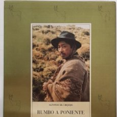 Libros: CAZA RUMBO A PONIENTE. MIS CACERIAS Y ANDANZAS. ALDABA, 2 TOMOS EN CAJA. Lote 246091400