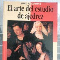 Livres: EL ARTE DEL ESTUDIO DE AJEDREZ. Lote 251642565