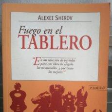 Libros: FUEGO EN EL TABLERO. 2* EDICIÓN. Lote 251646820