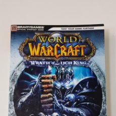 Libros: WORLD OF WARCRAFT WRATH OF THE LICH KING / GUÍA OFICIAL / BLADY GAMES /. Lote 253191130